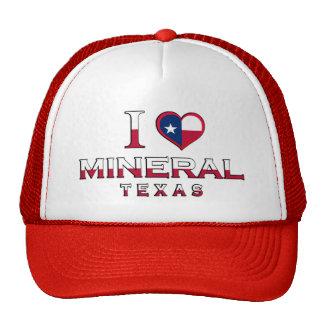 Mineral, Tejas Gorra