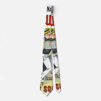 Mineral Water Ad 1896 Neck Tie