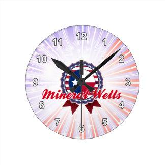 Mineral Wells, TX Wall Clock