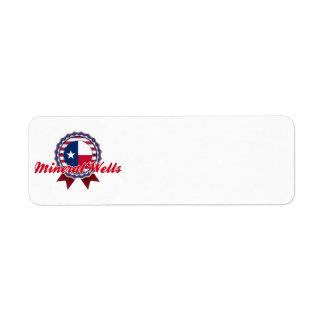 Mineral Wells, TX Return Address Label