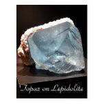 Minerales y gemas # 21 tarjeta postal