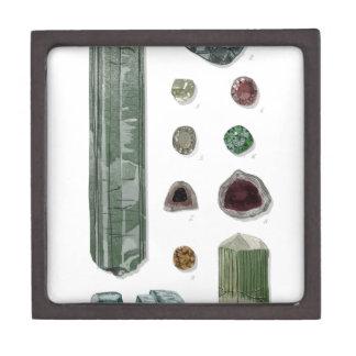 Minerales y gemas Vol.1 Cajas De Recuerdo De Calidad