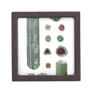 Minerales y gemas Vol.1 Caja De Regalo De Calidad