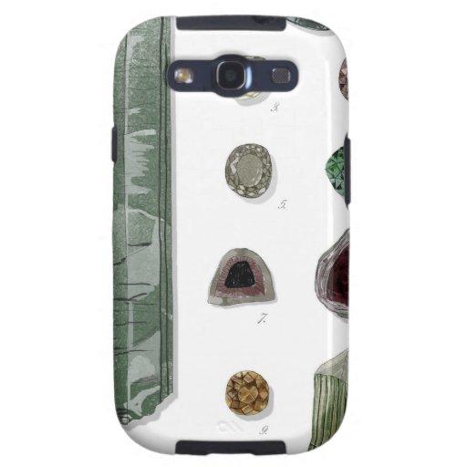 Minerales y gemas Vol.1 Samsung Galaxy S3 Protector