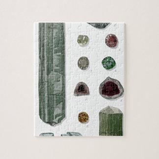 Minerales y gemas Vol 1 Rompecabezas Con Fotos