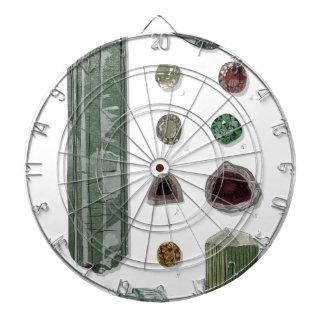 Minerales y gemas Vol 1 Tablero De Dardos