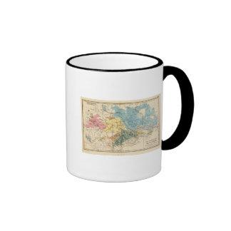Mineralogique de Saxe Tazas De Café