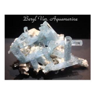Minerals & Gems # 152 Postcard