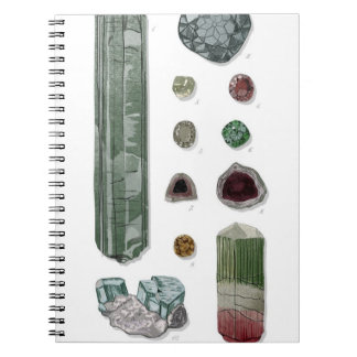 Minerals & Gems Vol.1 Note Book