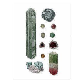 Minerals & Gems Vol.1 Postcard
