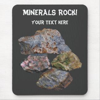 Minerals Rock Collectors Cute Mouse Pad