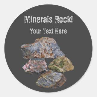 Minerals Rock Collectors Funny Sticker