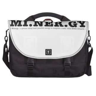 Minergy minimal energy laptop bags