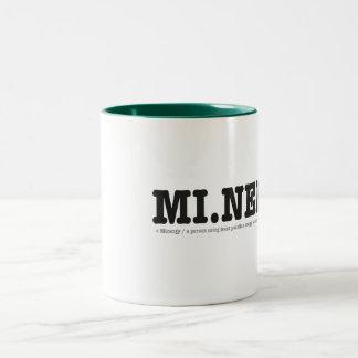 Minergy (minimal energy) Two-Tone coffee mug