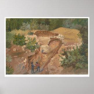Minería aurífera 0139B Impresiones