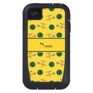 Minería aurífera amarilla conocida personalizada