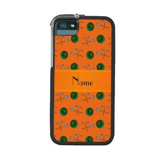 Minería aurífera anaranjada conocida personalizada
