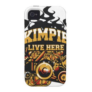 Minería aurífera de Kalgoorlie ciudad-con tema de Vibe iPhone 4 Carcasa