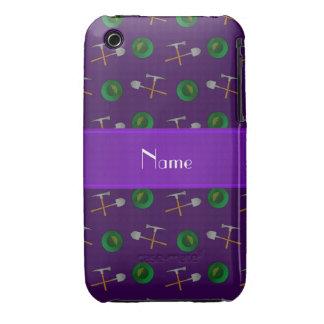Minería aurífera púrpura conocida personalizada