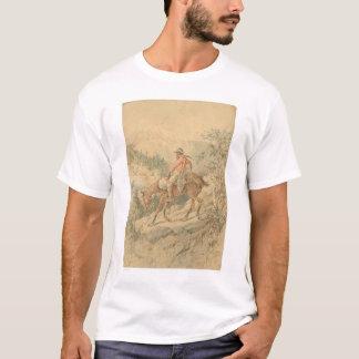 Minero a caballo (0692A) Playera