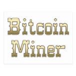 Minero de Bitcoin Postal