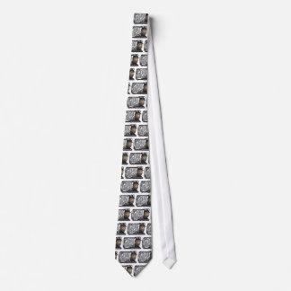 minero de carbón que guarda las luces encendido corbata