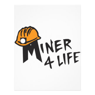 Minero para la vida membrete