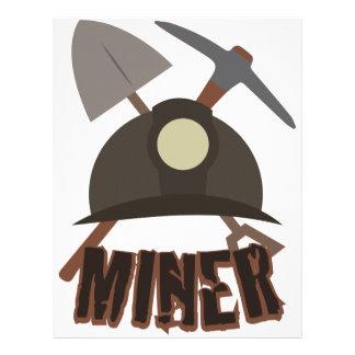 Minero Plantillas De Membrete