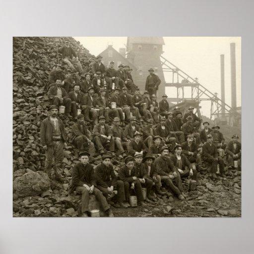Mineros de Tamarack Póster