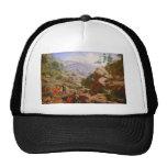 Mineros en las sierras - 1851/1852 gorros bordados