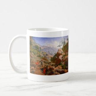 Mineros en las sierras - 1851/1852 taza clásica