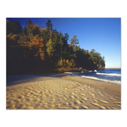 Miners Beach at Pictured Rocks National Photo Print