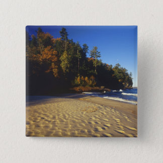 Miners Beach at Pictured Rocks National Pinback Button