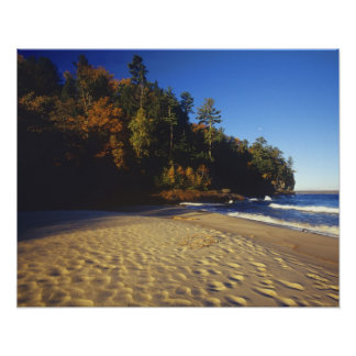 Miners Beach at Pictured Rocks National Poster