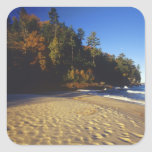 Miners Beach at Pictured Rocks National Square Sticker