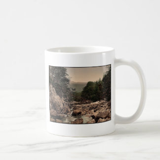 Miners' bridge, Fairy Glen, Bettws-y-Coed (i.e. Be Classic White Coffee Mug