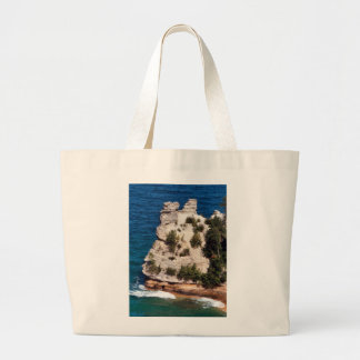 Miners Castle - Michigan Tote Bags