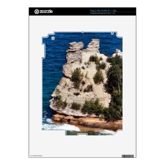 Miners Castle, Michigan Skin For The iPad 2