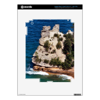 Miners Castle, Michigan Decal For iPad 3