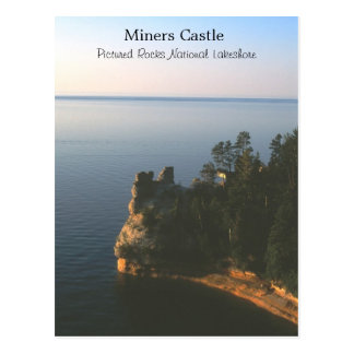 Miners Castle Postcard