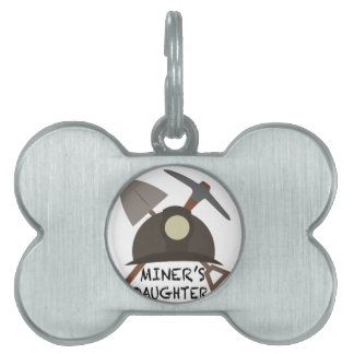 Miner's Daughter Pet Name Tags