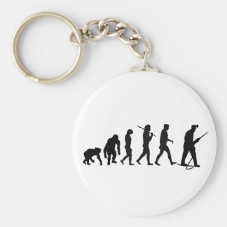 Miners Drilling and Tunnel builders Tees Basic Round Button Keychain