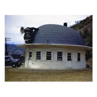 Miners Hat Diner, Kellogg, Idaho Vintage Postcard