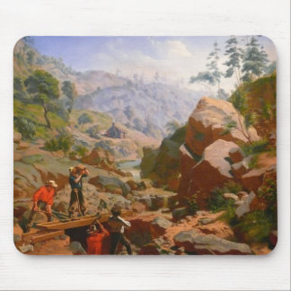 Miners in the Sierras - 1851/1852 Mouse Pad
