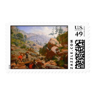 Miners in the Sierras - 1851/1852 Postage