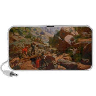 Miners in the Sierras by Charles Christian Nahl Speaker