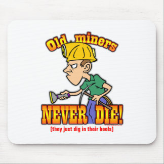 Miners Mouse Pad