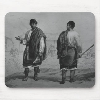 Miners of Chile, engraved by F. Lehnert Mouse Pad