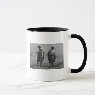 Miners of Chile, engraved by F. Lehnert Mug