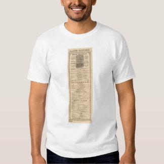 Miners' Restaurant Menu (1083A) T Shirt